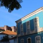 Chateau de Silves vu du bas de la ville