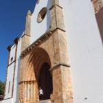 facade basilique de silves algarve sud portugal