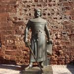 statue chateau de silves