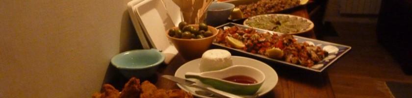 Buffet de dégustation de produits de l'Algarve et cochon Ibérique