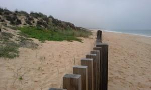 La plage de Ferragudo